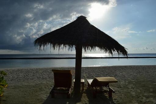 Beach in Maldives 9