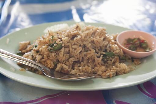 Thai fried rice 1