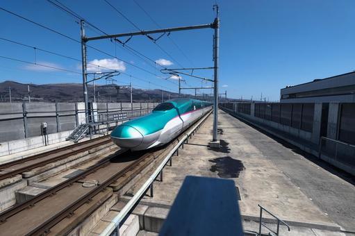 Hokkaido Shinkansen at Shin-Hakodate Hokuto