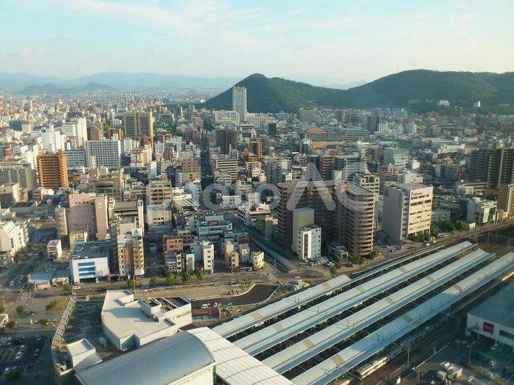 瀬戸の都 高松市の中心部の写真