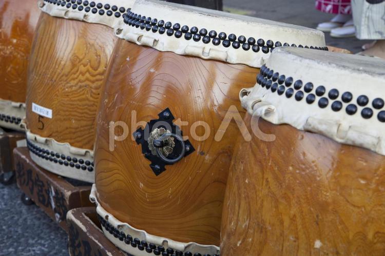 祭りの太鼓1の写真