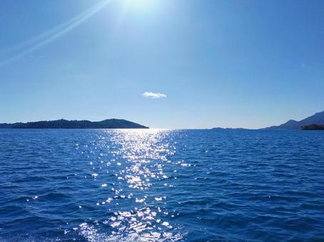 세이셸 셀프 섬과 바다