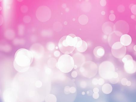 Fluffy pink purple