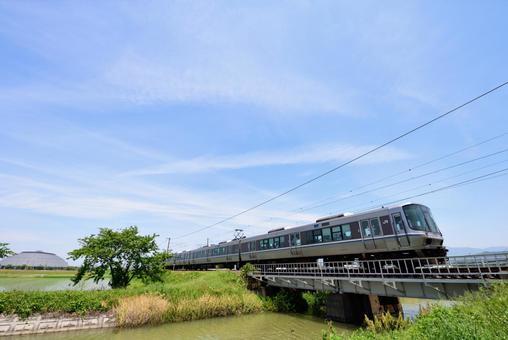 Railway, JR West 223 series train 002