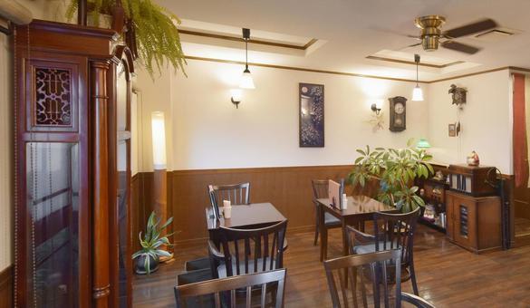 A calm atmosphere restaurant