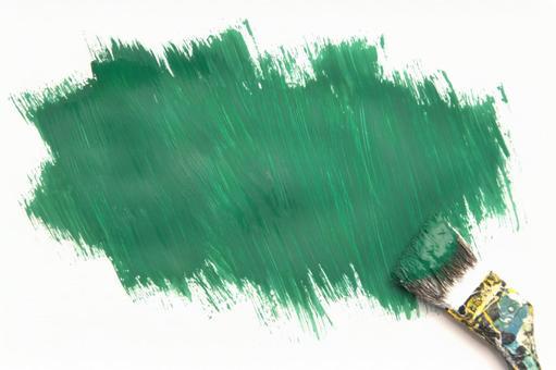 녹색 페인트
