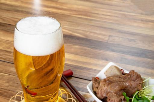 Stewed beer and beef tendon