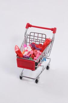 Shopping cart 60