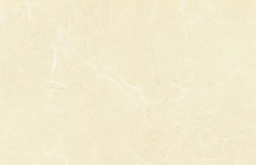 日本的纸质材料 - 奶油