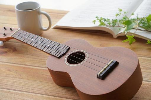 Relax Time-Ukulele and Coffee-