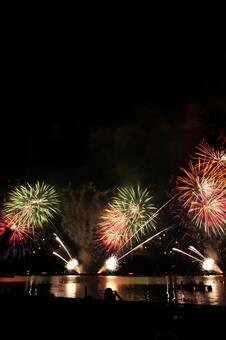 Waterfront fireworks 2