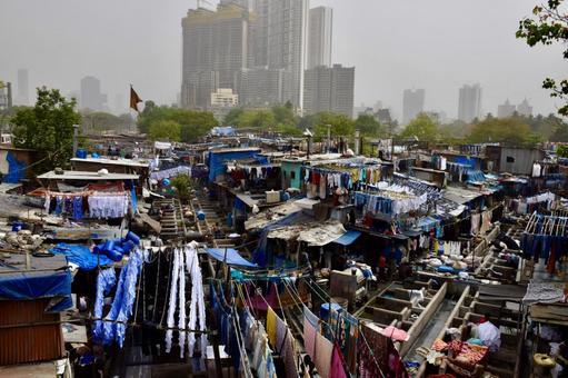 인도 뭄바이의 도비 산길 1