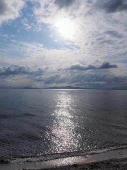 Lake Biwa in the morning