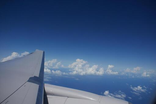 Scenery seen from airplane 4