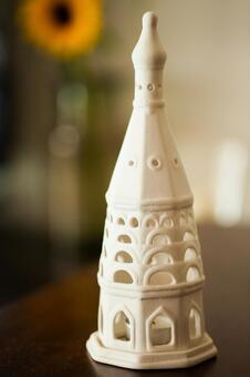 흰 촛대 1