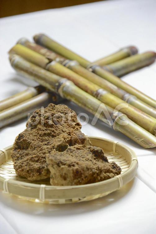黒糖の写真