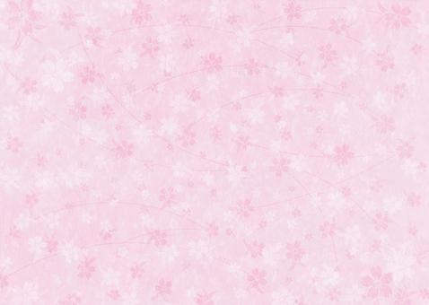 Sakura's texture on Japanese paper _ Pink