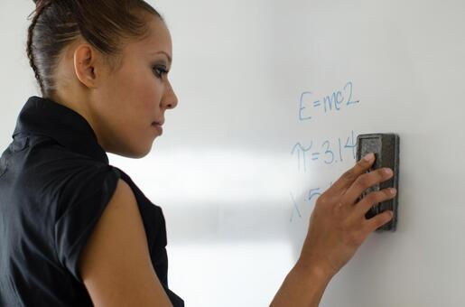 Business lady writing woman 2