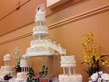 American Wedding Cake