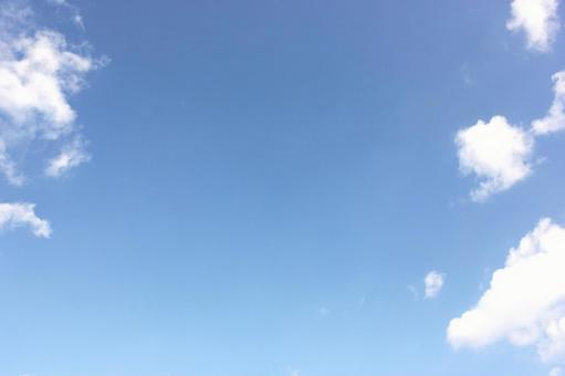구름과 푸른 하늘 20