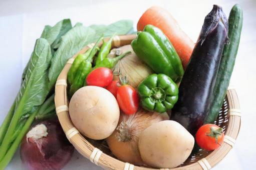 Vegetables raw vegetables