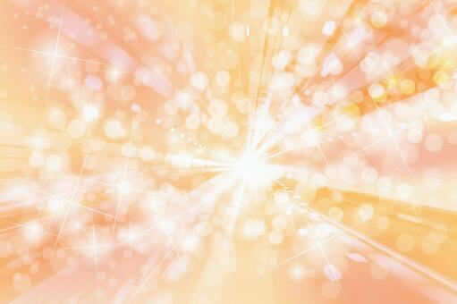 Abstract background material texture that makes you feel the speed of orange