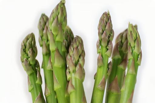 Fresh asparagus 6