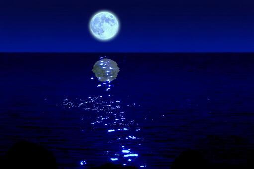藍月亮之夜