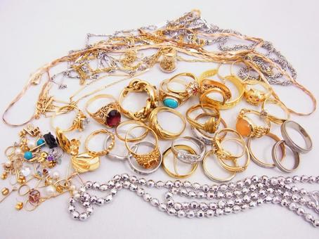 Jewelry collection background material