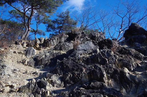 Ryogaizan Hiking Course in Ashikaga City, Tochigi Prefecture