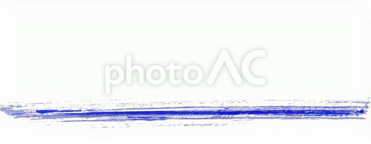 青いラインの写真