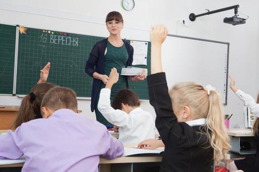 教师教学,小学生14