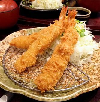 Fried shrimp. 01