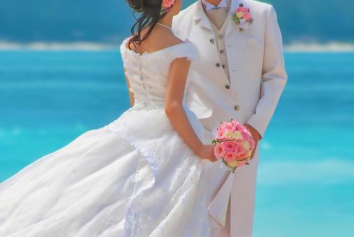 Resort wedding image in Hawaii