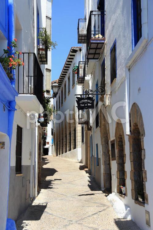 スペインの家々の写真