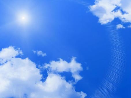 푸른 하늘과 태양 1