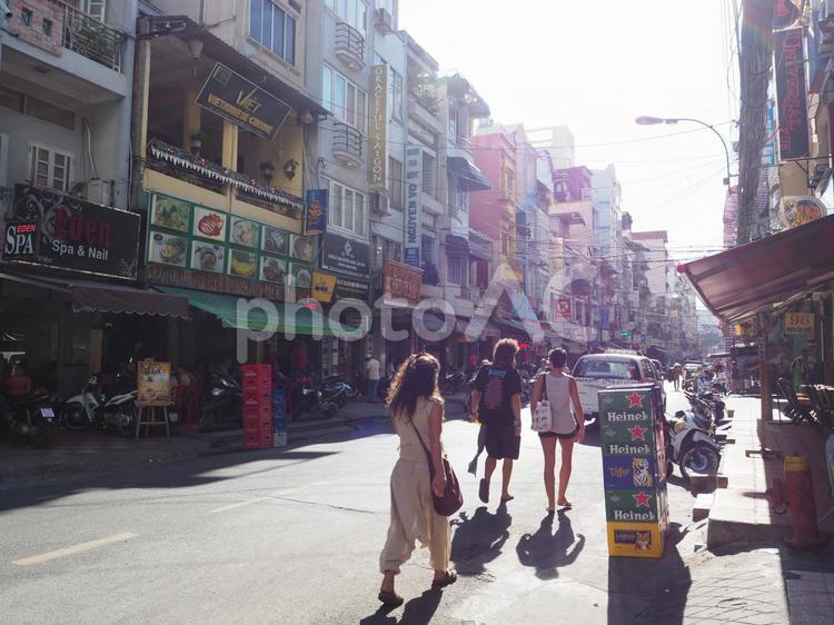 バックパッカー街2【ホーチミン】の写真