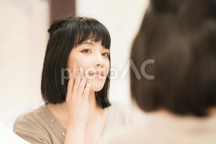 女性の美容のイメージの写真