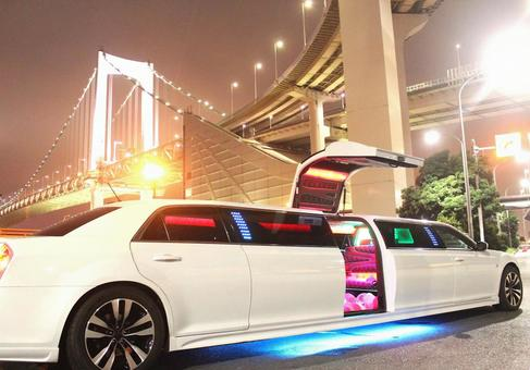 東京乘坐豪華轎車