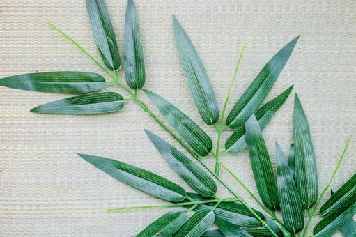 Tanabata bamboo grass (folding background material)