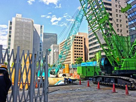 Construction site urban development 3