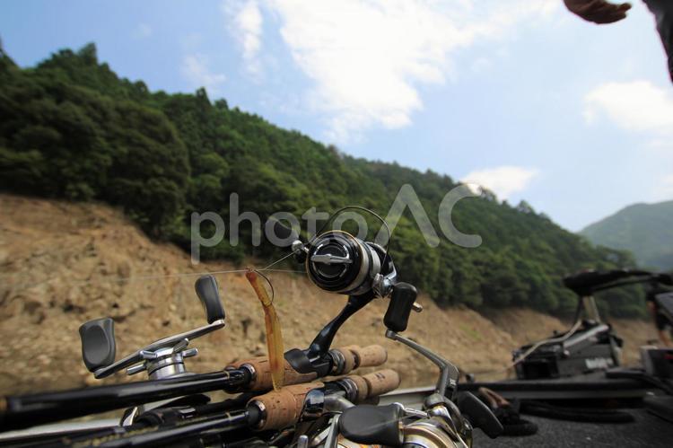 釣り道具・バス釣りの写真