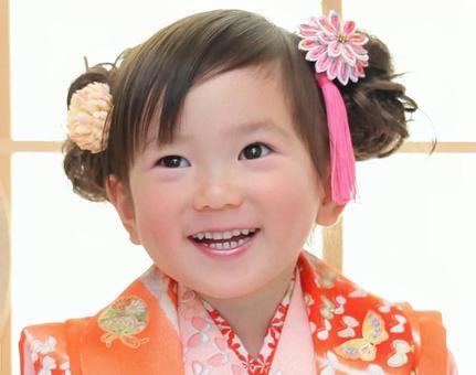 Smile with kimono