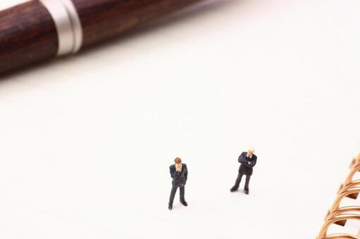 Miniature businessman writing instrument 2