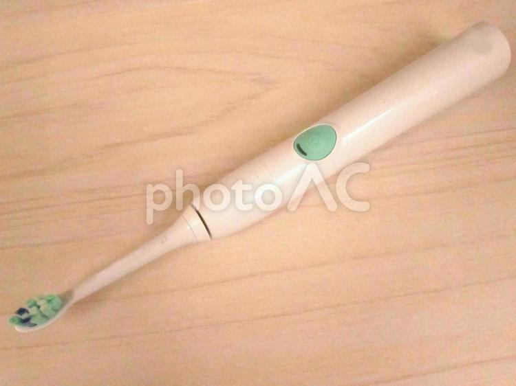 電動歯ブラシの写真