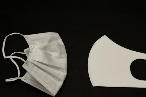 [Mask] Non-woven mask and urethane mask [Infection prevention]