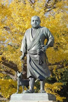 Takamori Saigo 5 in autumn 5