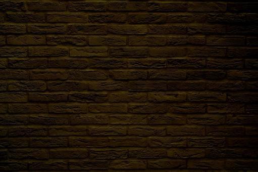 Brick background material Texture - Dark