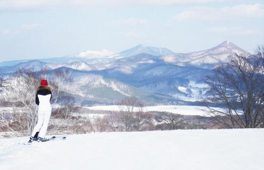 Snow scene ‗ A 03