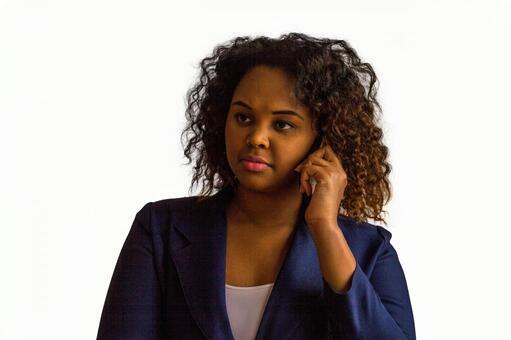 Black female mobile phone 2